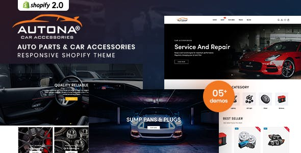 Autona - Auto Parts And Car Accessories Shopify Theme