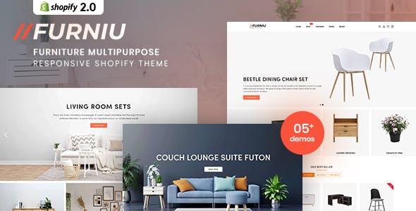 Furniu - Furniture Multipurpose Responsive Shopify Theme