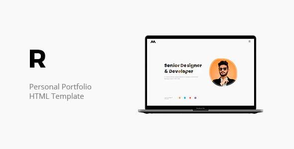 Ryker - Personal Portfolio Template