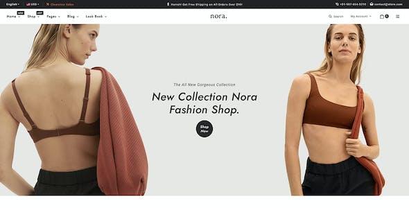Nora - Boutique Shopify Multi-purpose Responsive Theme