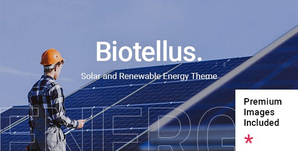 Biotellus - Solar and Renewable Energy Theme