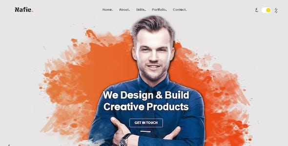 Nafie - HTML Portfolio Template