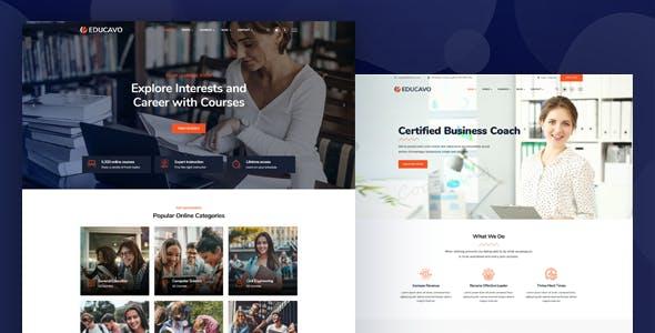 Educavo - Online Courses & Education WordPress Theme