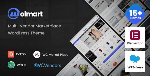 Wolmart | Multi-Vendor Marketplace WooCommerce Theme