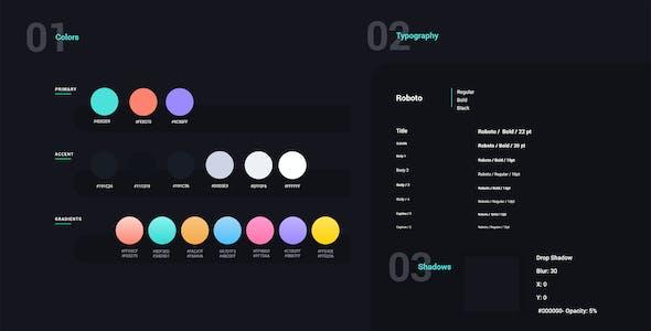 Bitex – Crypto Wallet Adobe XD Template