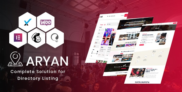 Aryan - Listing & Directory WordPress Theme - Directory & Listings Corporate