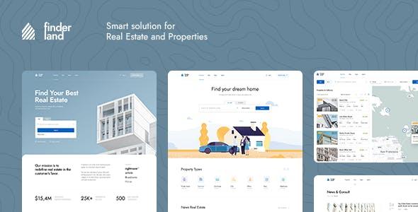 Finderland - Real Estate Html Template