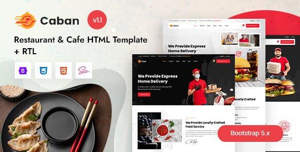 Caban - Restaurant & Cafe HTML Template