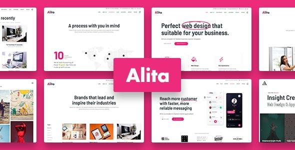 Alita 1.0.1 – Web Studio WordPress Theme