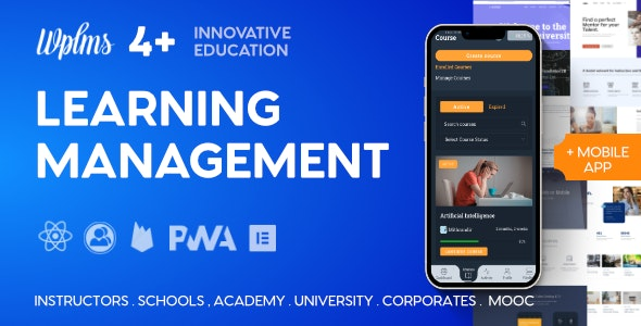 WPLMS Learning Management System for WordPress, WordPress LMS - Education WordPress