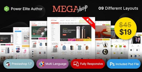 Mega Shop - Multiuse Prestashop v1.7 Theme - PrestaShop eCommerce