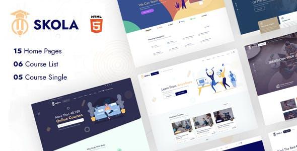 Skola - LMS Online Courses HTML Template