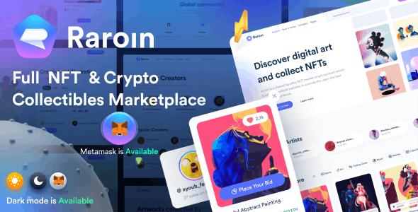 Raroin - NFT Marketplace