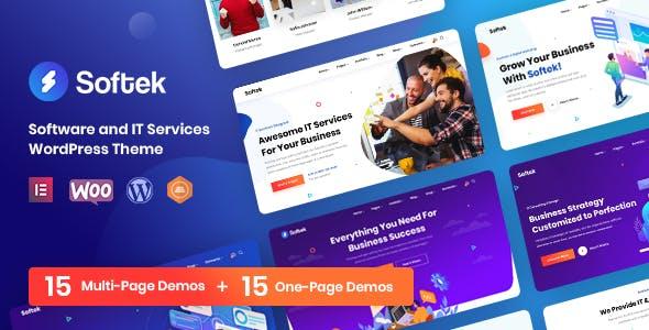 Softek - Software & IT Solutions WordPress Theme