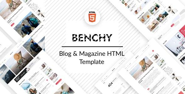 Benchy - Blog & Magazine HTML Template