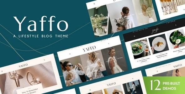 Yaffo - A Lifestyle Personal Blog WordPress Theme - Personal Blog / Magazine