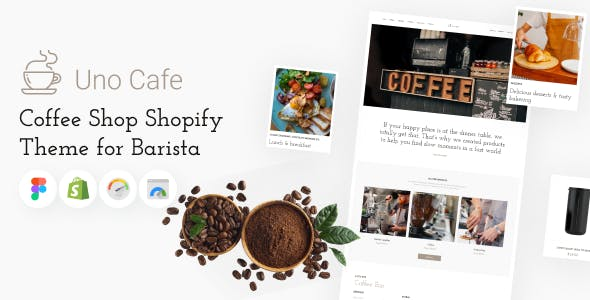 Uno Cafe - Coffee Shop Shopify Theme for Barista