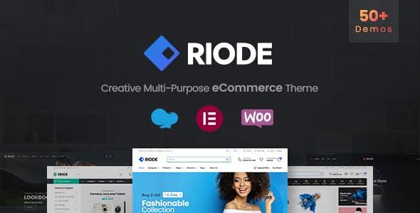 Riode | Multi-Purpose WooCommerce Theme