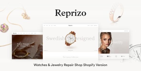 Reprizo - Jewelry & Watch Store Shopify Theme - Fashion Shopify
