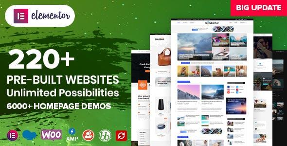 Soledad - Multipurpose Blog/Magazine & WooCommerce WordPress Theme