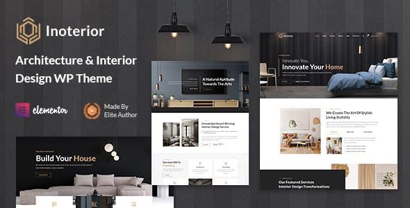 Inoterior - Architecture & Interior Designer WordPress Theme