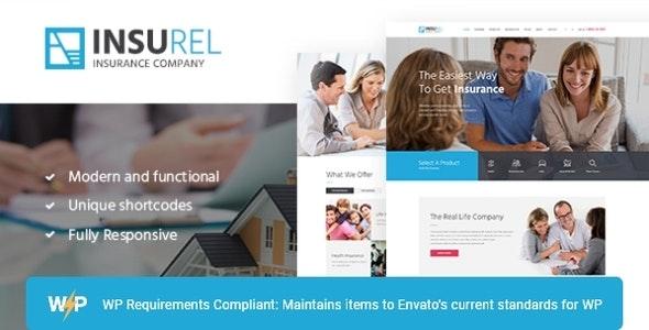 InsuRel   Insurance & Finance WordPress Theme - Business Corporate