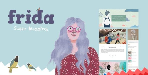 Frida - A Sweet & Classic Blog Theme - Personal Blog / Magazine