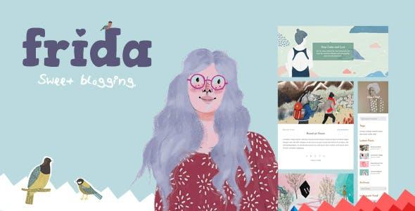 Frida - A Sweet & Classic Blog Theme