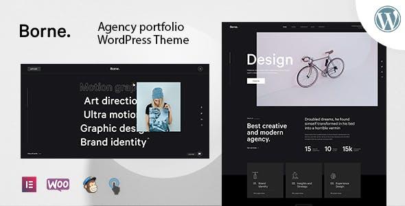 Borne - Agency Portfolio WordPress Theme