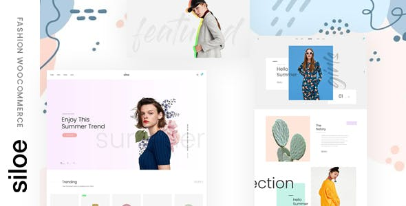 Siloe - Minimal Fashion WooCommerce Theme