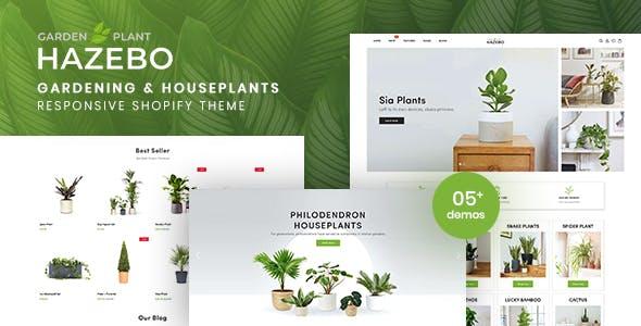 Hazebo - Gardening & Houseplants Responsive Shopify Theme