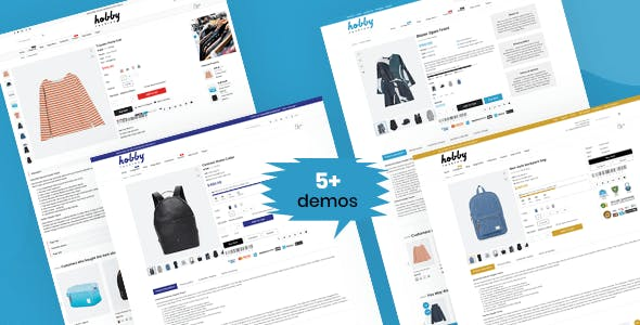 Hobby - Fashion Shopify Theme Multipurpose Responsive Template