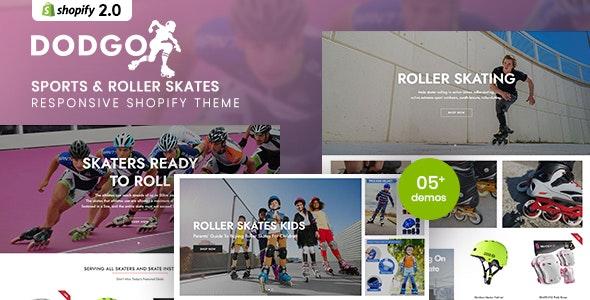 Dodgo - Sports And Roller Skates Responsive Shopify Theme