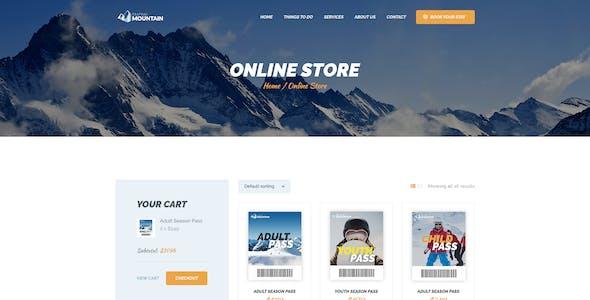 Snow Mountain   Ski Resort & Snowboard School WordPress Theme