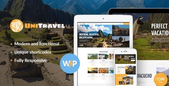 UniTravel | Travel Agency & Tourism Bureau WordPress Theme - Travel Retail