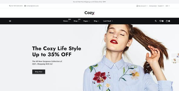 Cozy - Best of Shopify Multipurpose Responsive Theme