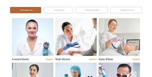 Macak - Dermatology Clinic Elementor Template Kit