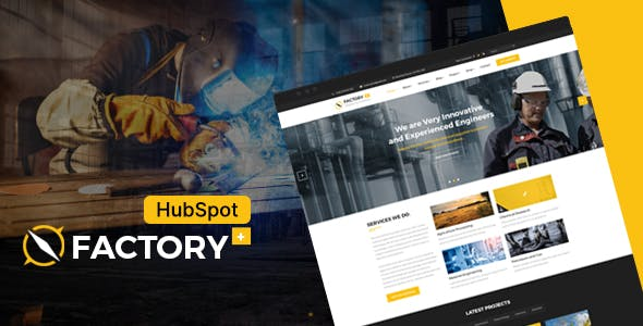 Factory Plus - Industrial Business HubSpot Theme
