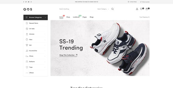 QOS - Fashion WooCommerce WordPress Theme