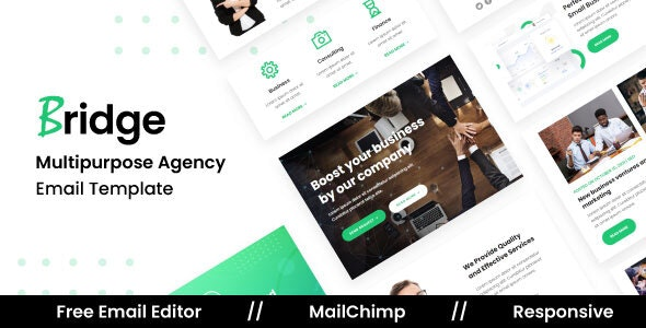 Bridge Agency - Multipurpose Responsive Email Template