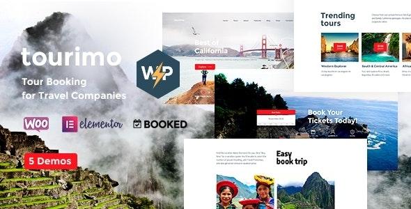 Tourimo - Tour Booking WordPress Theme - Travel Retail