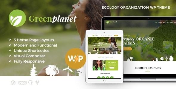 Green Planet | Environmental Non-Profit Organization WordPress Theme - Environmental Nonprofit