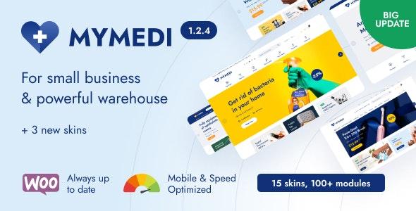 MyMedi v1.2.4 – Responsive WooCommerce WordPress Theme
