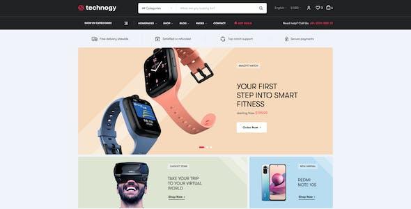 Technocy - Electronics Store WooCommerce Theme