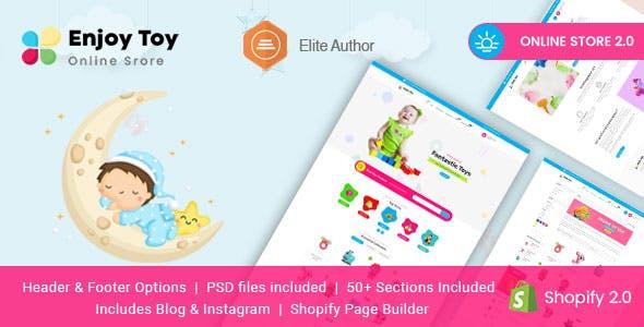 Enjoy - Kids Clothing & Toys Shopify Theme