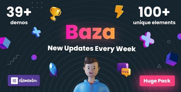 Baza v1.17 – Creative MultiPurpose WordPress Theme