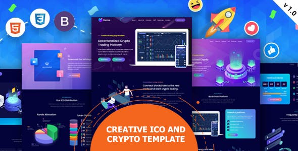 Tokyland - ICO and Crypto Bootstrap Template