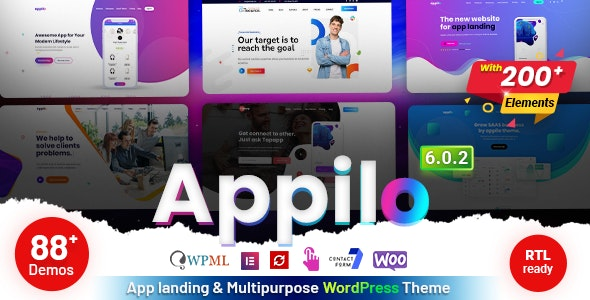 Appilo v6.0.1 – App Landing Page