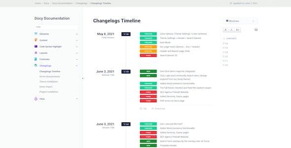 Docy - Documentation and Knowledge base WordPress Theme with Helpdesk Forum