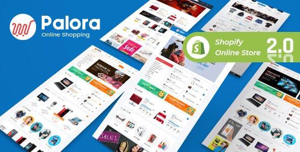 Palora - Electronics, kitchen Appliances Shop Shopify Theme
